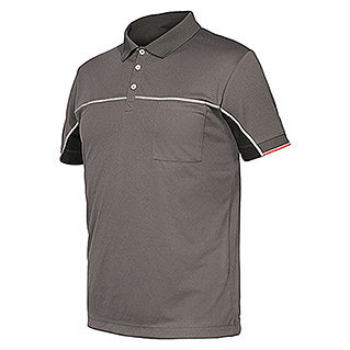 Industrial Starter Stretch Polo Extreme (S, Gris)