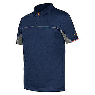 Industrial Starter Stretch Polo Extreme (S, Azul)