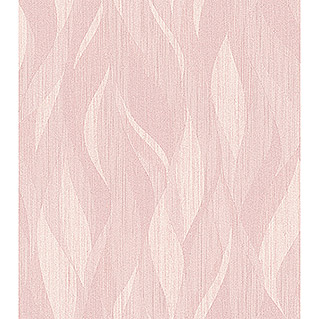 FREUNDIN HOME COLLECTION III Vliestapete Welle (Rosa, Wellen, 10,05 x 0,53 m)