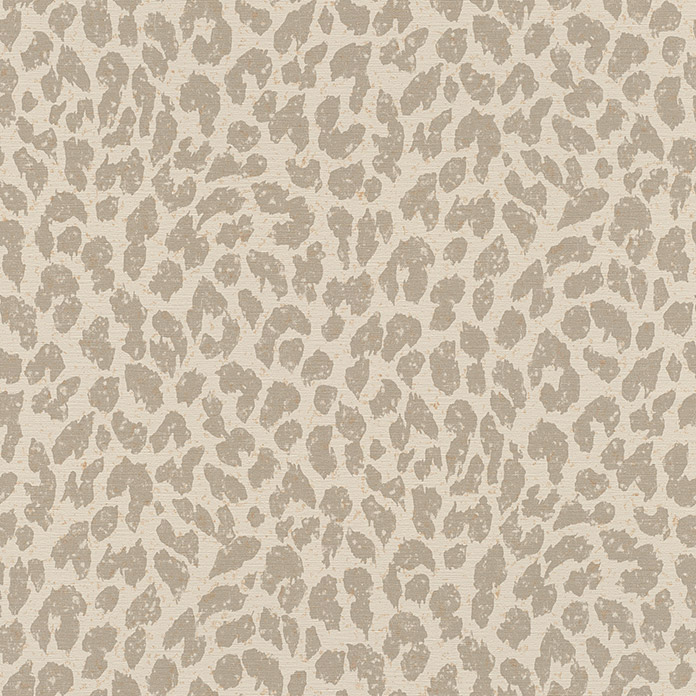 FREUNDIN HOME COLLECTION III Vliestapete Leopard (Beige, Tieroptik, 10,05 x 0,53 m)