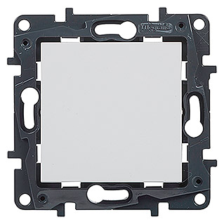Legrand Niloé Step Conmutador (Blanco, Montaje en la pared, IP44)