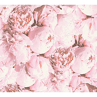AS Creation Neue Bude 2.0 ED II Vliestapete Pfingstrose (Rosa, Floral, 10,05 x 0,53 m)