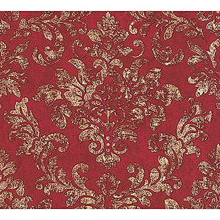 AS Creation Neue Bude 2.0 ED II Vliestapete Damask (Rot/Gold, Ornament, 10,05 x 0,53 m)
