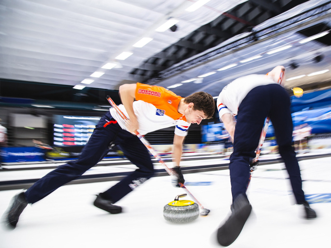 Curling herenteam