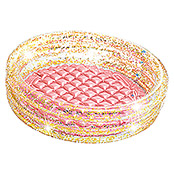 Intex Planschbecken Glitter Mini Pool (Dimensionen (L x B): 86 x 25 cm, Rosa)