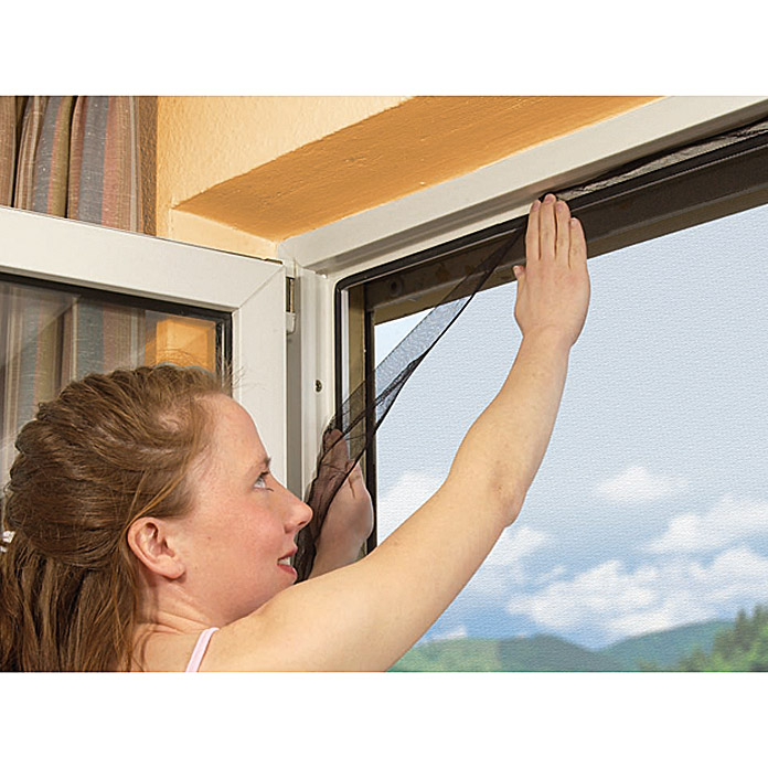 A-IS-GITTER-FENSTER 130X150cm WEISS     AKTION