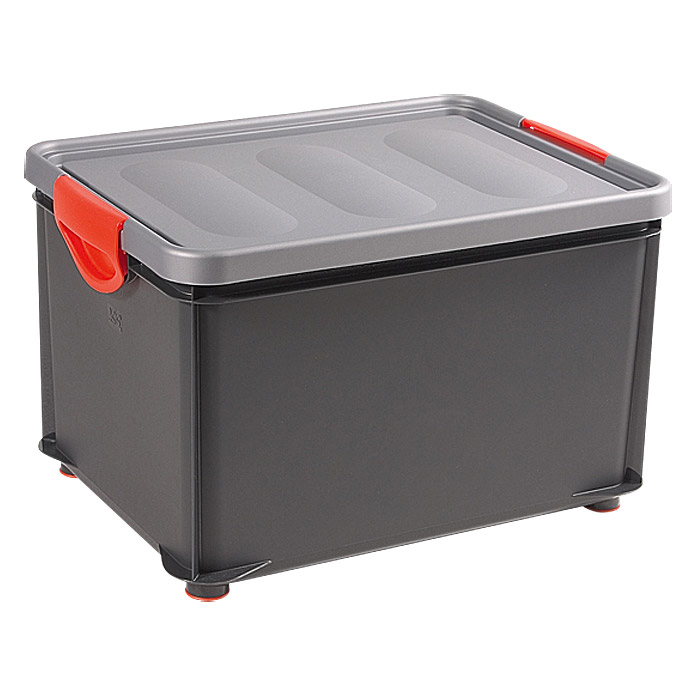 KIS Clipper Box  (33 l, Silber/Anthrazit)