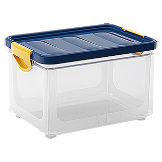 KIS Clipper Box  (20 l, Blau/Transparent)