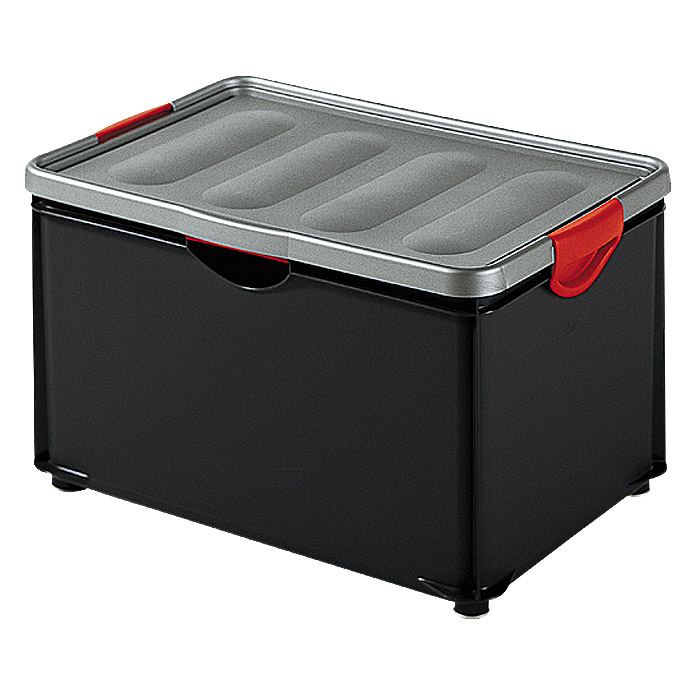 KIS Clipper Box  (55 l, Silber/Anthrazit)