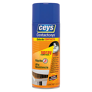 Ceys Adhesivo en spray Contactceys (Amarillo, 400 ml)