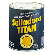 Titan Imprimación para superficies porosas (Blanco, 750 ml)