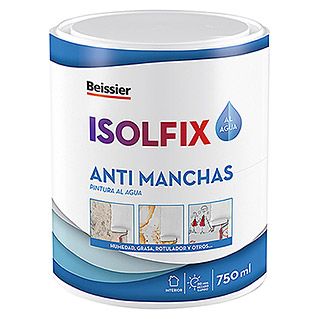 Beissier Pintura antimanchas Isolfix (Blanco, 750 ml)