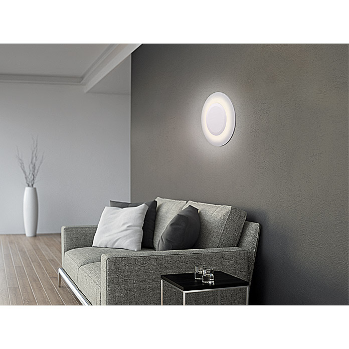 Osram Plafón LED para pared y techo Flat (20 W, 38 cm, Blanco cálido)