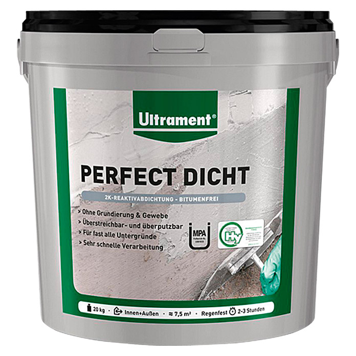 Ultrament Reaktivabdichtung Perfect Dicht (20 kg)