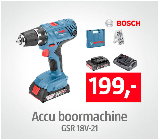 Bosch Professional Accuboormachine
