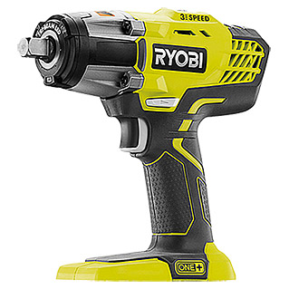 Ryobi ONE+ Accu-impulsschroevendraaier R18IW3-0 (18 V, Li-ion, Excl. accu, Max. draaimoment: 400 Nm, Onbelast toerental: 0 tpm - 2.900 tpm)