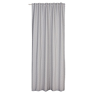 FREUNDIN HOME COLLECTION Natural Moments Schlaufenschal (130 x 255 cm, Grau, Uni, 100 % Polyester)