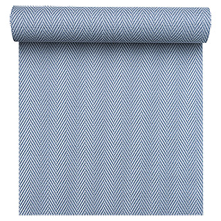 FREUNDIN HOME COLLECTION Sea Dream Vliestapete (Blau, Fischgrät, 10,05 x 0,53 m)