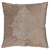 FREUNDIN HOME COLLECTION Vintage Kissen (Vintage, Taupe, 45 x 45 cm, 100 % Polyester)