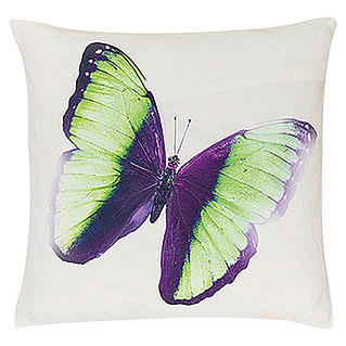 FREUNDIN HOME COLLECTION Summer Breeze Kissen (Schmetterling, Bunt, 45 x 45 cm, Material Bezug: 100 % Polyester)