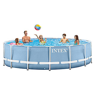 Intex Frame-Pool-Set Rondo (Ø x H: 457 x 84 cm, 11.325 l)