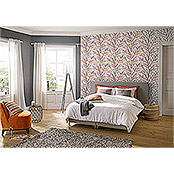 FREUNDIN HOME COLLECTION Paradise Vliestapete (Grau, Uni, 10,05 x 0,53 m)