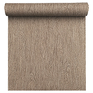 FREUNDIN HOME COLLECTION Vintage Vliestapete (Dunkelbraun, Holzoptik, 10,05 x 0,53 m)