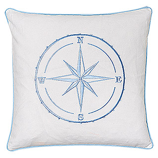 FREUNDIN HOME COLLECTION Sea Dream Kissen  (Blau)