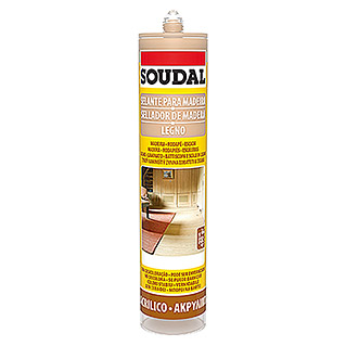 Soudal Sellador para madera (Roble, 300 ml)