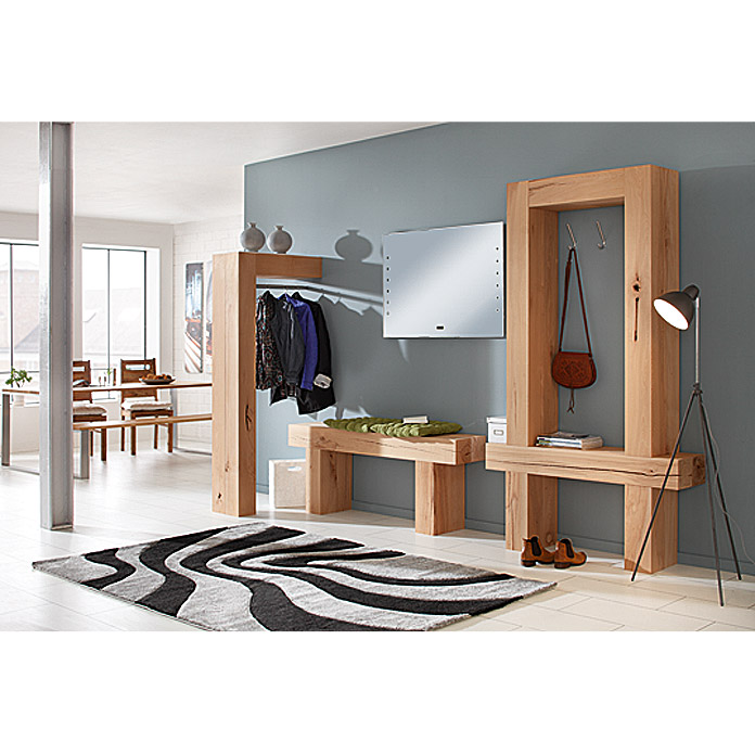 massiv blox holzbalken l x b x h 210 x 15 x 15 cm buche bauhaus. Black Bedroom Furniture Sets. Home Design Ideas