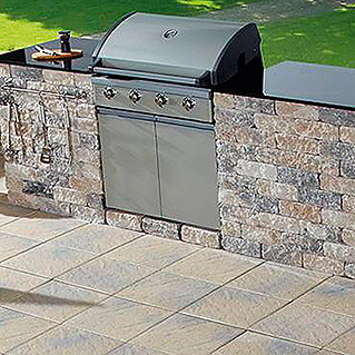 OUTDOOR KITCHEN XL  MUSCHELKALK