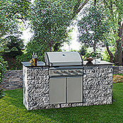 OUTDOOR KITCHEN M   GR.-ANTHR.