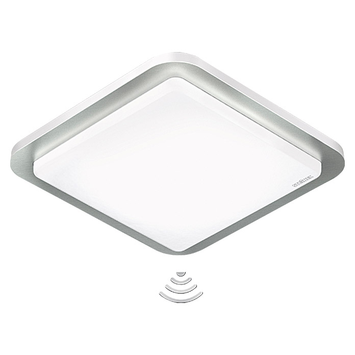 Steinel LED-Wand- & Deckenleuchte RS LED D2 Z-Wave (1-flammig, 11 W, Warmweiß, Sensor, Passend für: Abus Smart Friends System)