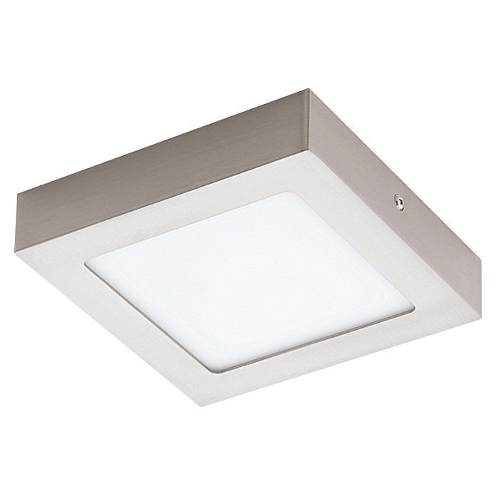Tween Light LED-Deckenleuchte Tinus (10,9 W, Nickel matt)