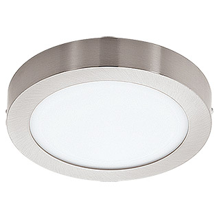 Tween Light LED-Deckenleuchte Tinus (22 W, Warmweiß, Durchmesser: 300 mm, Nickel matt)