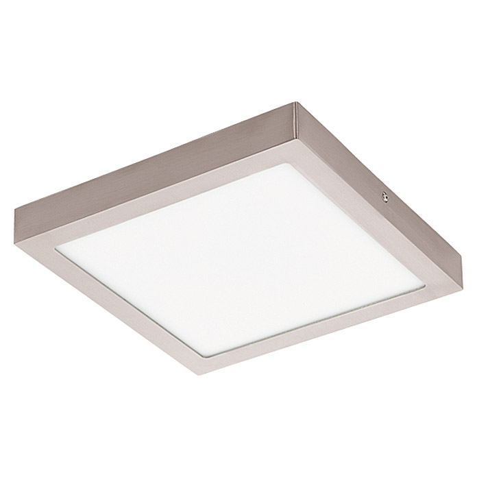 Tween Light LED-Deckenleuchte Tinus (24 W, Neutralweiß, 300 x 300 mm, Nickel matt)