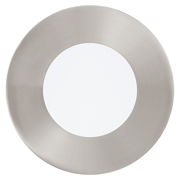 Tween Light LED-Einbauleuchten-Set (3 x 2,7 W, Warmweiß, 85 mm, Nickel matt, 3 Stk.)