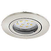 LED-EINBAUSPOT SET  3ER GU10 5W NICKEL  TWEENLIGHT