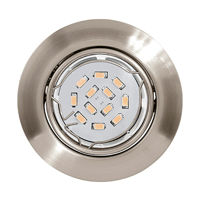 Tween Light LED-Einbauleuchten-Set  (Nickel matt)