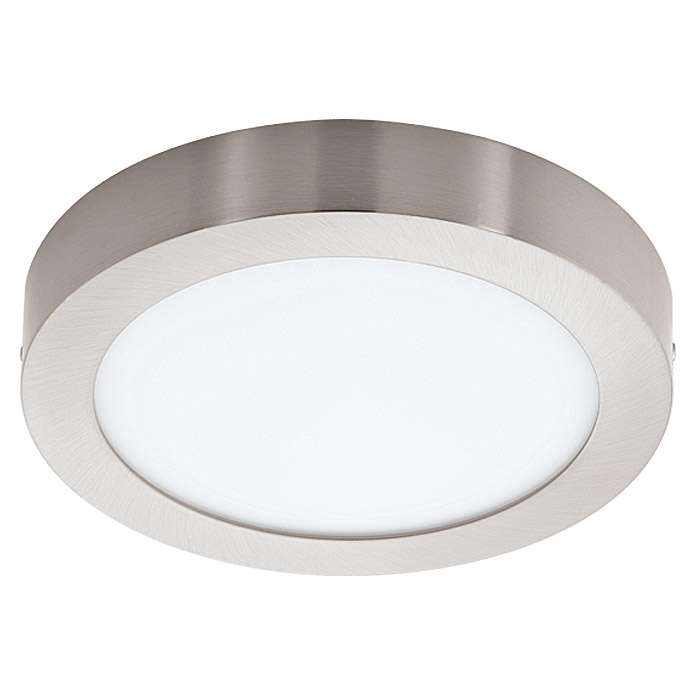 Tween Light LED-Deckenleuchte Tinus (16,5 W, Nickel matt)