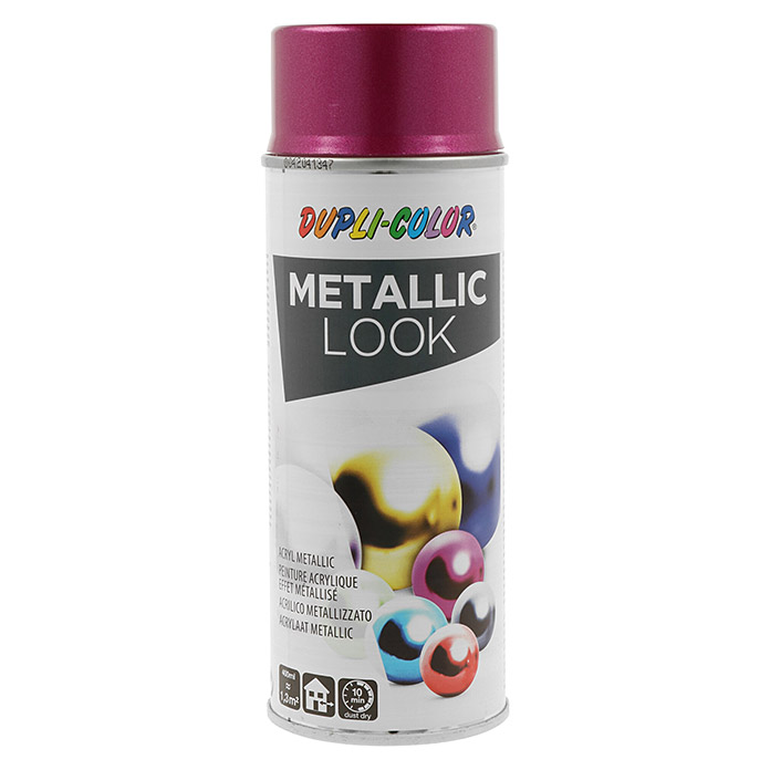 Dupli-Color Effect Acryl-Lackspray Metallic (Purpur Metallic, Seidenmatt, Schnelltrocknend, 400 ml)