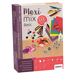 Bastel-Set Creativ-Maxi-Mix Basic (400-tlg.)