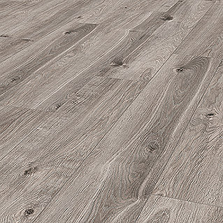 LOGOCLIC Aquaprotect Laminat Moonlight Oak (1.285 x 192 x 8 mm, Landhausdiele)