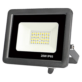 Led Hispania Proyector de LED FLHEK luz neutra (Negro, 20 W, IP65)