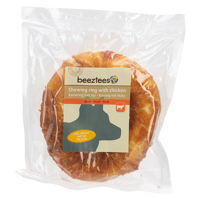 Beeztees Hundesnack Kauring (1 Stk., Mit Huhn)