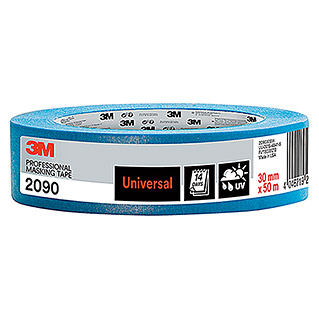 3M Scotch Cinta de protección (L x An: 50 m x 30 mm, Azul)