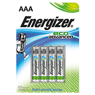 Energizer Batterie Eco Advanced (Micro AAA, 4 Stk., 1,5 V)
