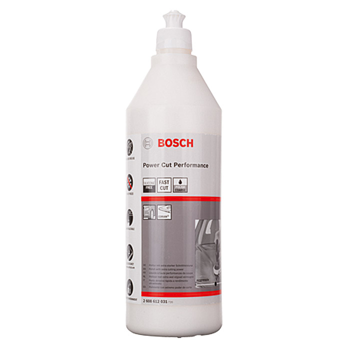 POLITUR 1000 ml     FAST CUT F. PWR 180 BOSCH
