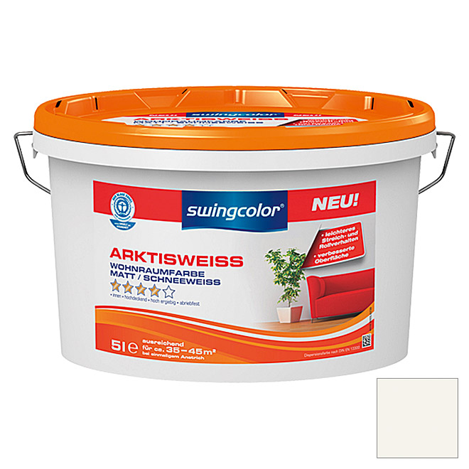 ARKTISWEISS         5 l SCHNEEWEISS     SWINGCOLOR