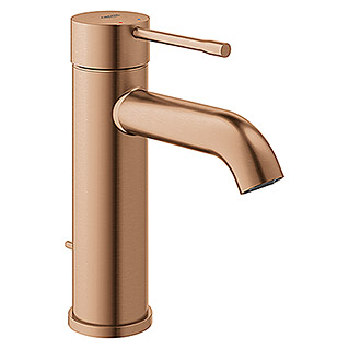 Grohe Essence New Waschtischarmatur S-Size (Mit Zugstange, Warm Sunset, Matt)